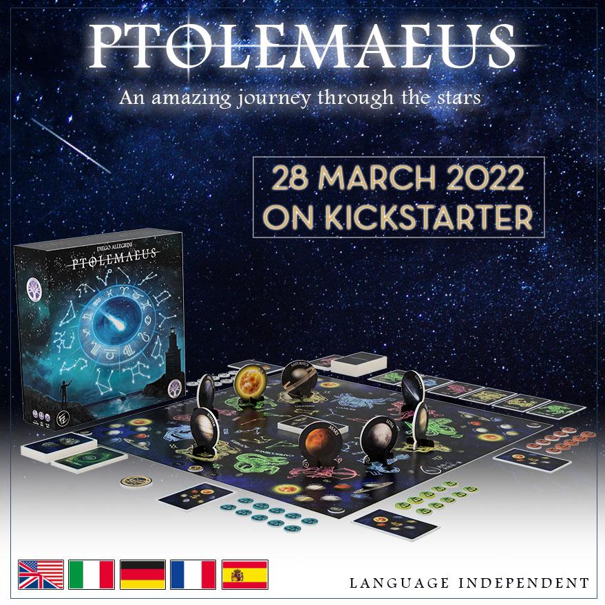 Ptolemaeus Board Game